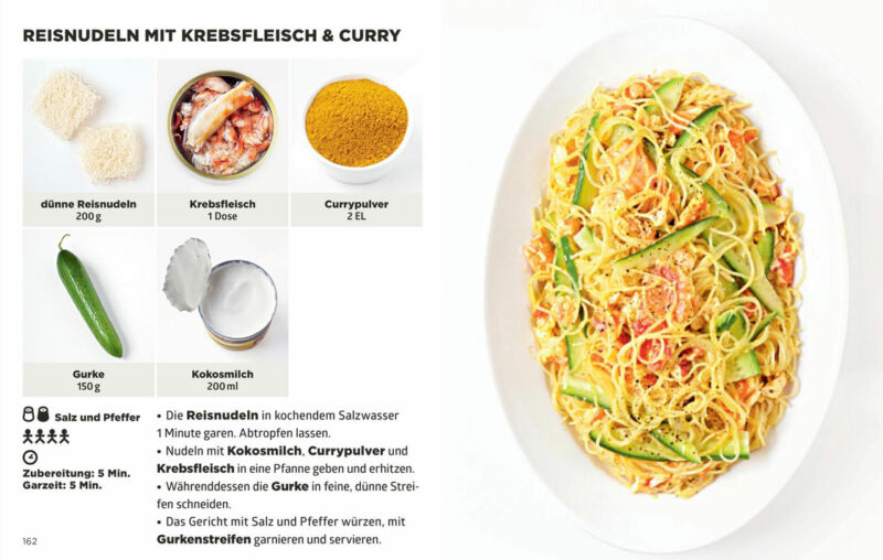 Simplissime – Das einfachste Kochbuch der Welt – Pasta